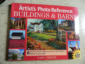 Artist's Photo Reference Painting Buildings and Barns