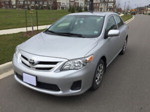 2013 Toyota Corolla CE with Power Sunroof, Bluetooth