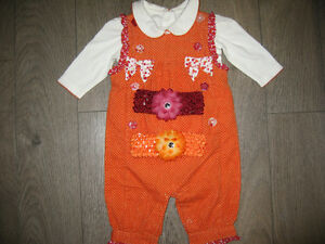 Girl's 0/3 months (Gymboree) 2pcs outfit and hair bow