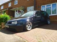 2003 VW mk4 Golf 1.6 with 1.8T conversion Air Ride Show Car Modified airlift bagged air suspension