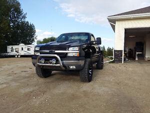 2005 Silverado Regular Stepside- Lifted-New 6.0L V8