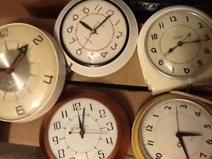 Collection of rare vintage kitchen electric clocks Windsor Region Ontario image 2