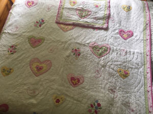 Pottery Barn Kids Quilt and Pillow Sham