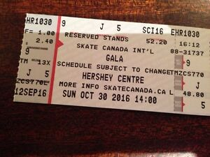 Three Skate Canada Gala tickets