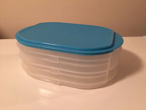 TUPPERWARE Stackable Storage Container. Great for BBQ's!