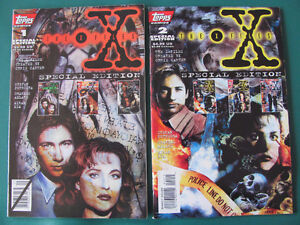 X-Files, Mars, Alien Encounters, Airboy and Starslayer Comics $1