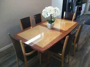 Formal Dining Room Table & Chairs