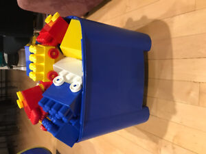 Mega blocks LEGO - large bin
