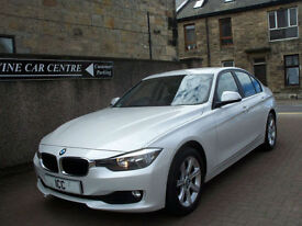 13 13 BMW 316D 2.0 TWIN POWER TURBO DIESEL 4DR 1 OWNER BLUETOOTH F.S.H ALLOYS AC