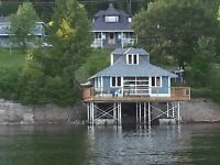 Beautiful One Bedroom Cottage for Rent on McGregor Lake