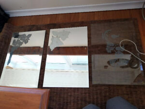 3 Table Glass Covers