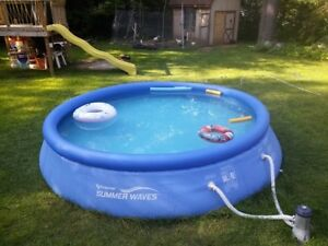 swimming pool 12ft by30