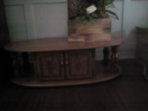 3 pc. set, coffee table and end tables