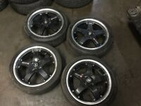 "Mags 18"" 4x114.3 400$"