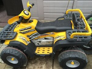 Peg perego Polaris 24 Volt  condition a1