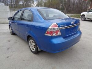 Chevrolet Aveo 4dr Sdn LS 2007