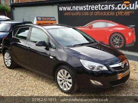 VAUXHALL ASTRA EXCLUSIV 2010 Petrol Manual in Black
