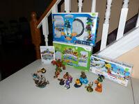 WiI Skylanders + Wii Fishing Reesort