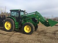 John Deere 6170R Tractor with loader lease assumption