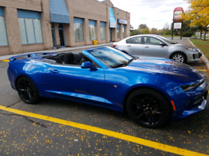 Camero convertible V6 2017 15k km Lease take over.