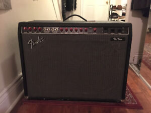 "Fender ""The Twin"" Red Knob Amp"