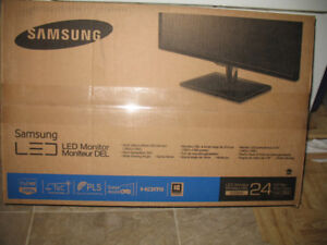 "24"" Samsung PLS Monitor Never Unboxed"