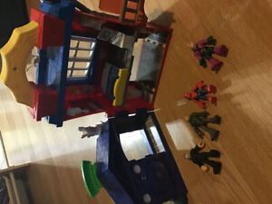 Imaginext Spider-Man set