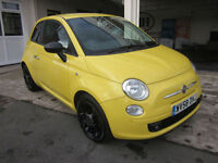 Fiat 500 1.4 SPORT ****IDEAL 1ST CAR - GLOSS BLACK ALLOYS...!!!**** LOOK***