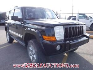 2006 JEEP COMMANDER LIMITED 4D UTILITY 4WD LIMITED