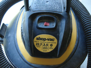 wet and dry shop vac, 6 gallon