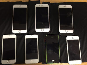 Various iPhones for sale! - iPhone 5-5S-6-6S and more!