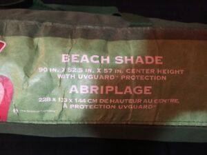 Beach Sunshade to protect your little one(s)