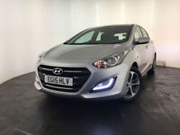 2015 HYUNDAI I30 SE BLUE DRIVE 1 OWNER FROM NEW SERVICE HISTORY FINANCE PX