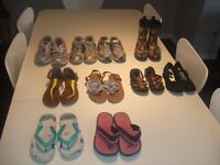 Girls shoes and sandals for 4 and 5 year old