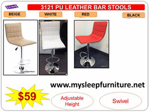 BRAND NEW- BAR STOOLS- acrylic, plastic, leather, Many colors City of Toronto Toronto (GTA) image 3