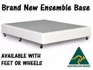 FREE DELIVERY Queen Size Bed Ensemble Pillow Top Mattress + Base New Farm Brisbane North East Preview
