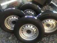 Horse box trailer complete wheels 165/R13 ifor Williams nugent trailer parts