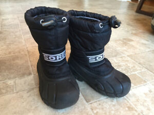 Toddler boy/girl Sorel size 8 winter boots, great condition