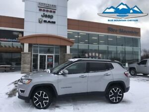 2017 Jeep Compass Limited  4x4, LEATHER HEATED, GPS/BLUETOOTH