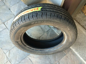 1 PNEU / 1 ALL SEASON TIRE  225/60/17 AEOLUS