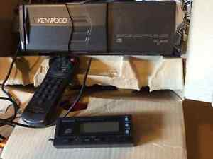 Kenwood 10 disc cd changer for auto