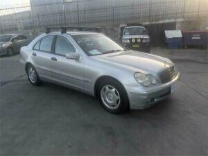 2004 Mercedes-Benz C180 W203 Kompressor Classic Silver 5 Speed Auto Tipshift Sedan