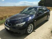 BMW 530D M SPORT GREAT CONDITION AUTO IDRIVE LOW MILE FULLHISTORY 530 D 5series