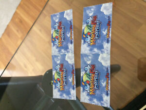 Shining water tickets for tomorrow June 24 only.