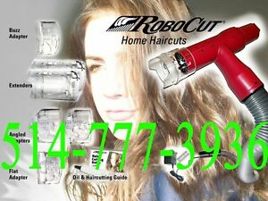 Robocut Vacuum hair cutter haircut CLIPPER trimmer CUT Razor