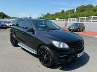 2012 12 Mercedes-Benz M-Class ML350 CDI BLUETEC SPORT Diesel Auto in Met Black