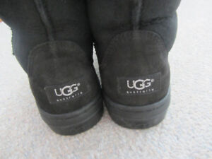 Brand New Women's UGG Black Boots - Size 8