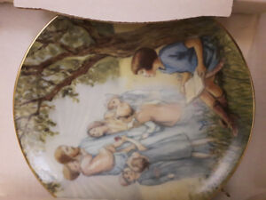 Bradford Exchange collector plate porcelain NEW IN BOX