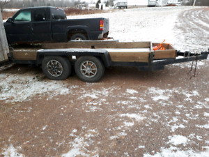12 Foot Beaver Tail Trailer