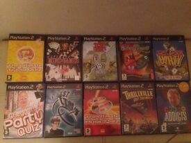Ps2 family game bundle